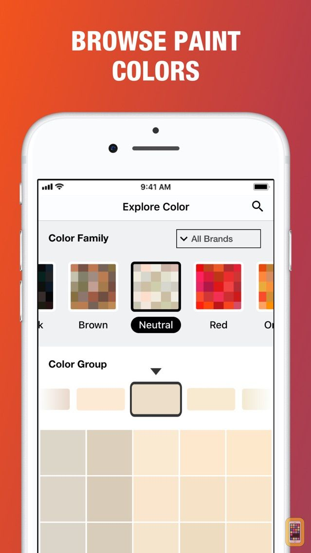 Screenshot - Project Color™ The Home Depot