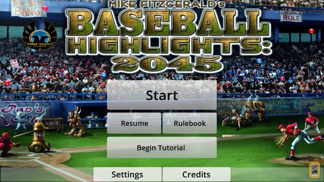 Screenshot - Baseball Highlights 2045