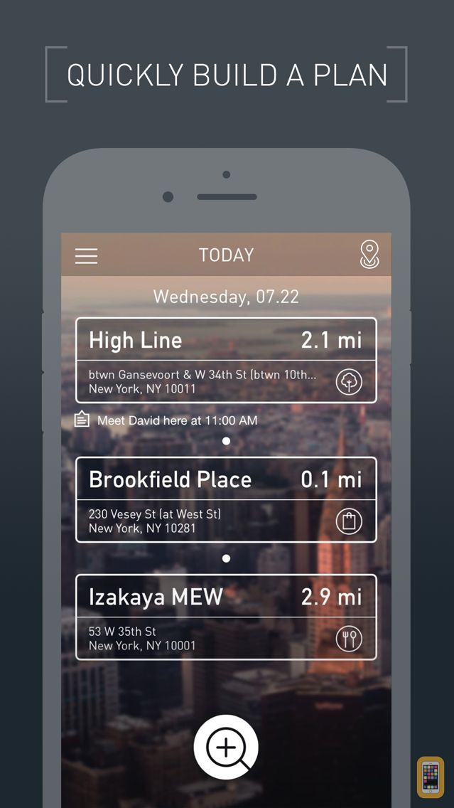 Screenshot - Drift- Travel / Trip / Weekend Itinerary Organizer