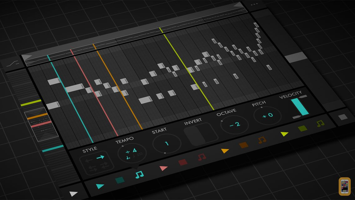 Screenshot - Fugue Machine : MIDI Sequencer