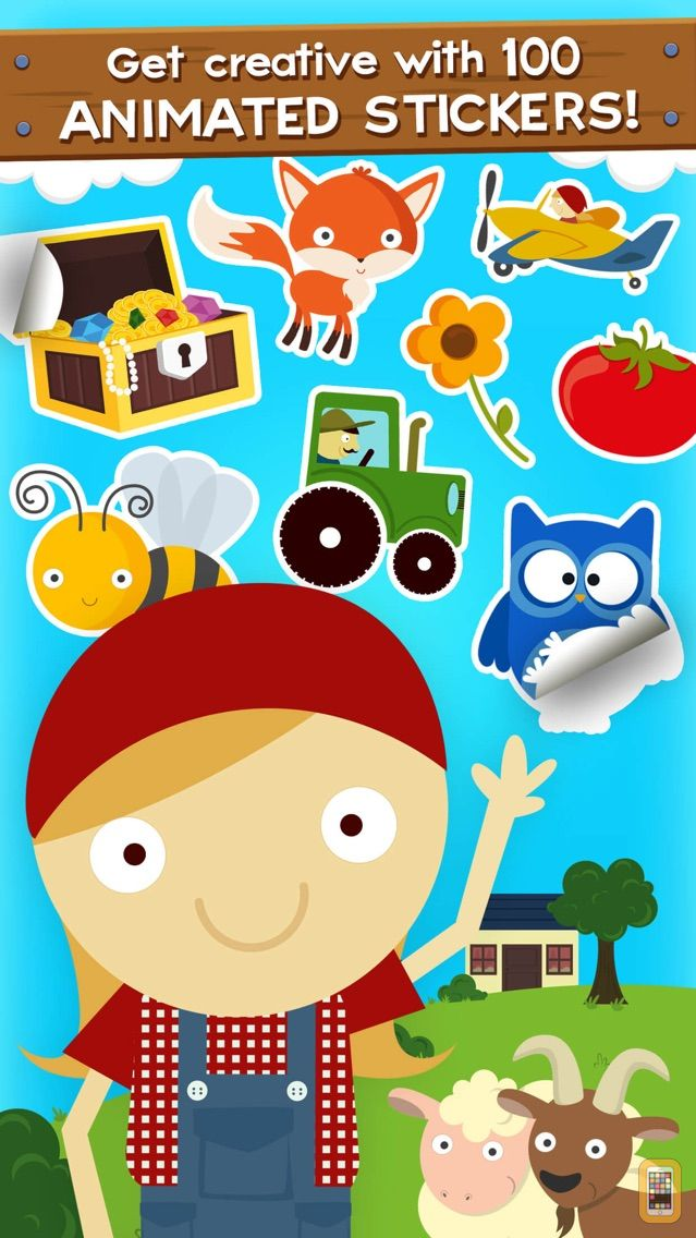 Screenshot - Farm Story Maker Activity Game for Kids and Toddlers Premium