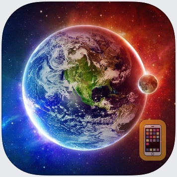 Galaxy Space Wallpapers & Backgrounds - Custom Home Screen Maker with HD Pictures of Astronomy & Planet by Chao Zhang (iPhone)