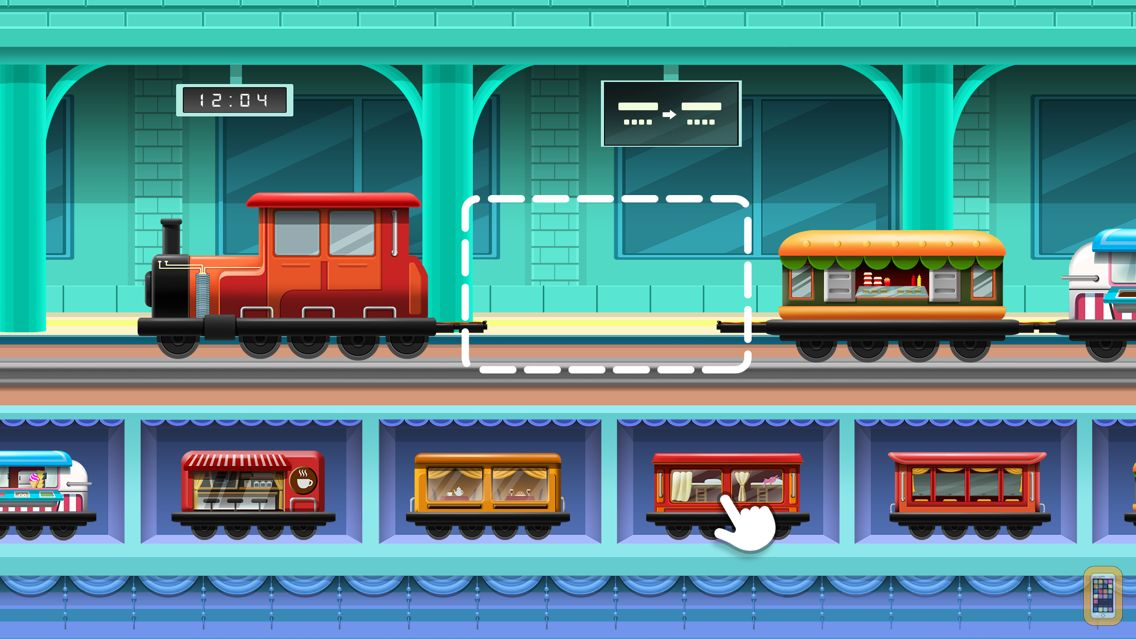Screenshot - Train Builder - Games for kids