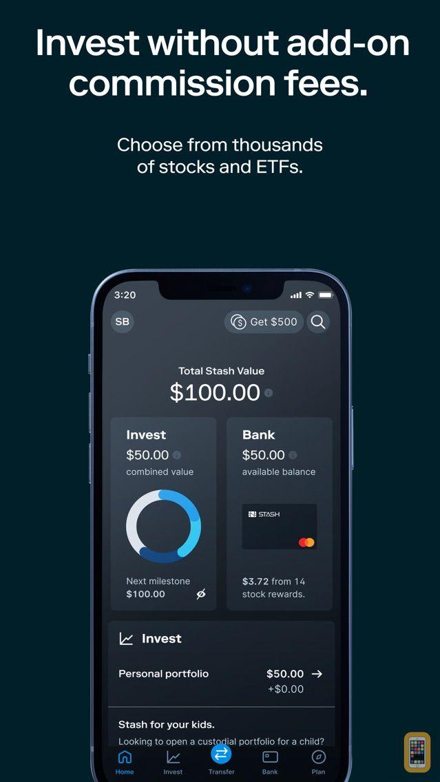 Screenshot - Stash: Invest. Learn. Save.