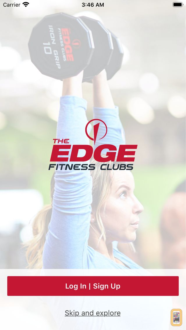 Screenshot - The Edge Fitness Clubs.