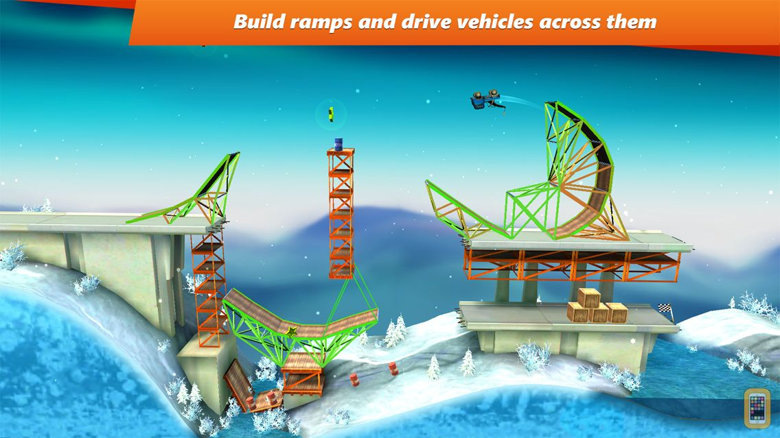 Screenshot - Bridge Constructor Stunts
