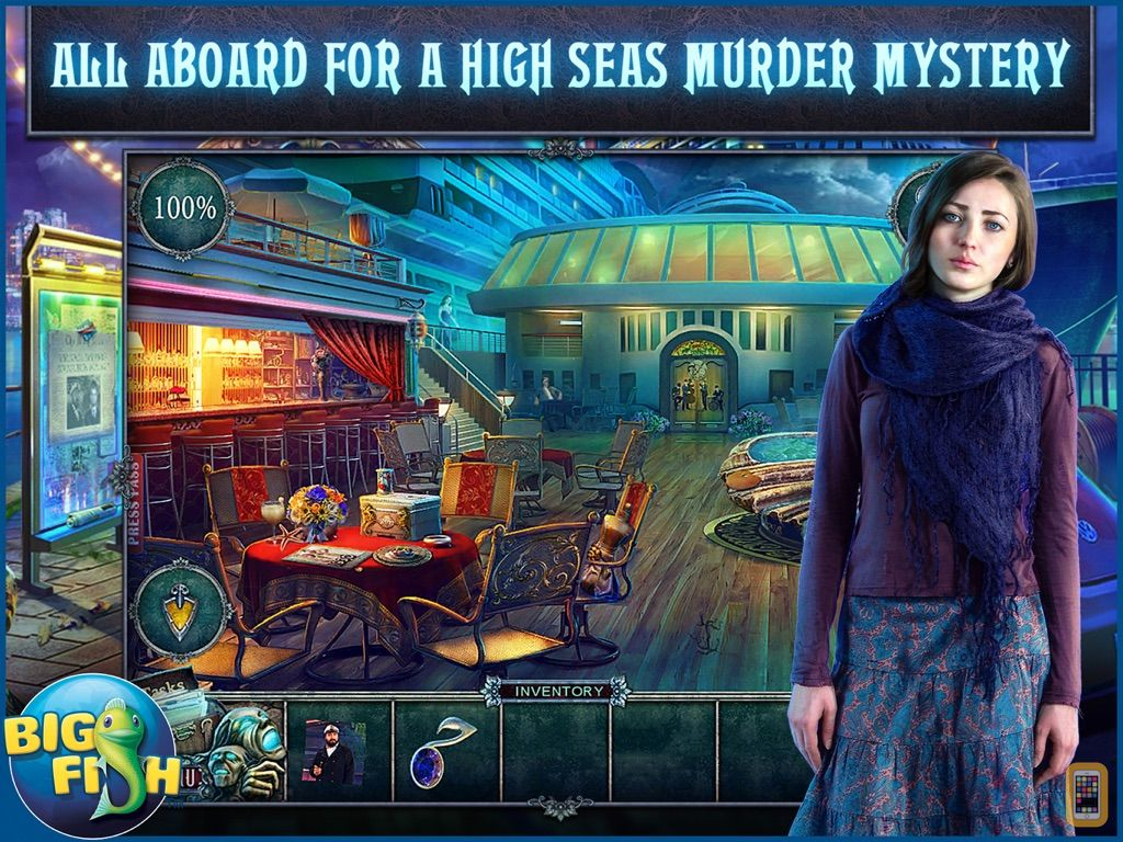 Screenshot - Fear for Sale: Endless Voyage HD - A Mystery Hidden Object Game (Full)