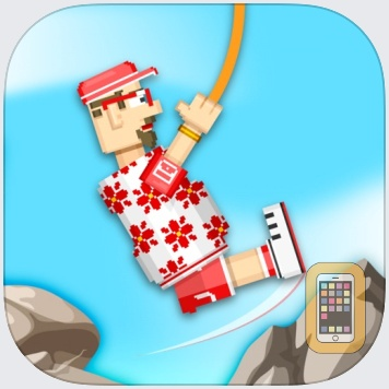 Rope Heroes : Hole Runner Game by CodeCube Brothers Partnership (Universal)