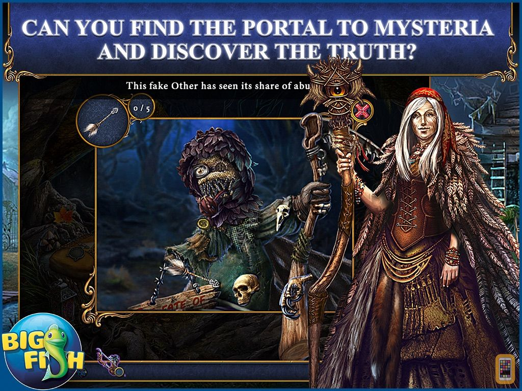 Screenshot - Bridge to Another World: The Others HD - A Hidden Object Adventure (Full)
