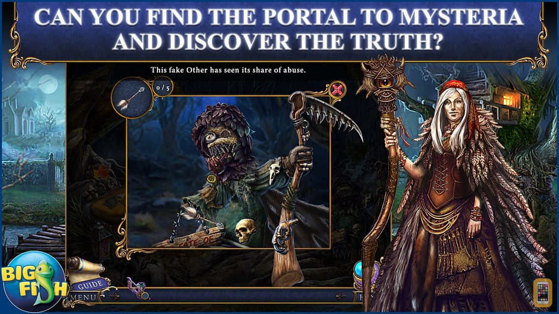 Screenshot - Bridge to Another World: The Others - A Hidden Object Adventure (Full)