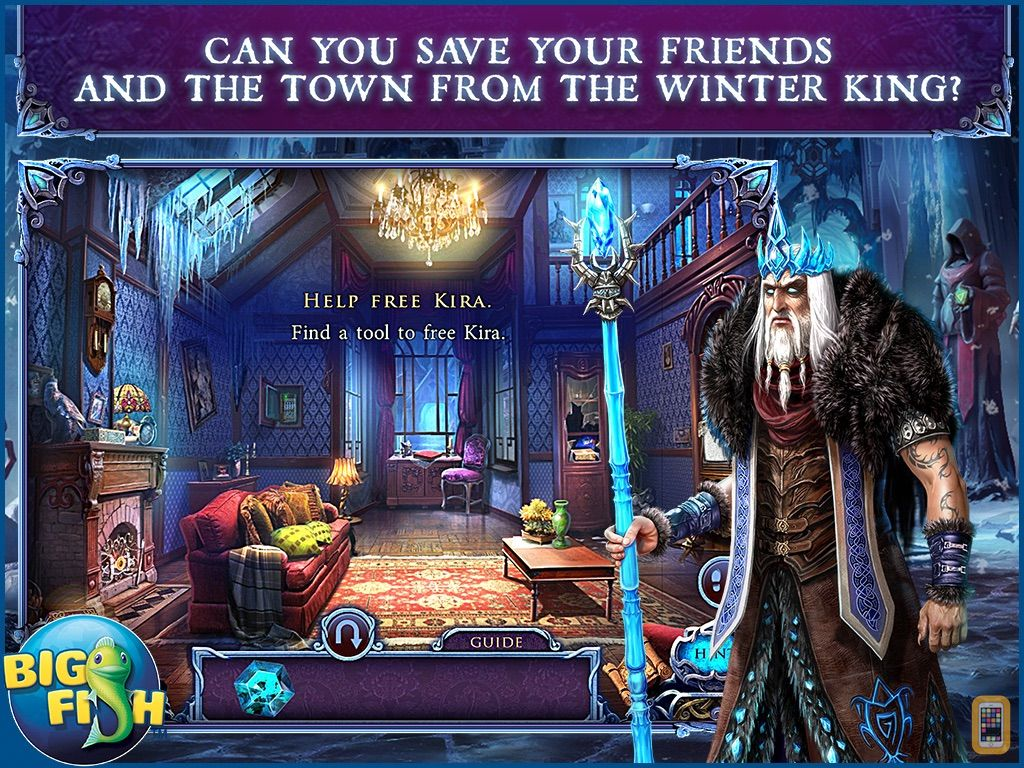 Screenshot - Mystery of the Ancients: Deadly Cold HD - A Hidden Object Adventure (Full)