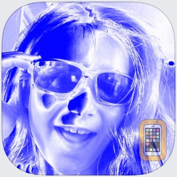 Blue and White Selfie Fan Cam by Awesome Apps, LLC (Universal)