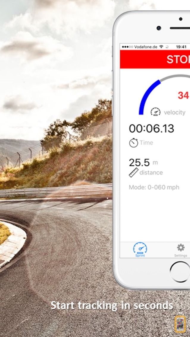 Screenshot - SpeedBox Performance Tracking