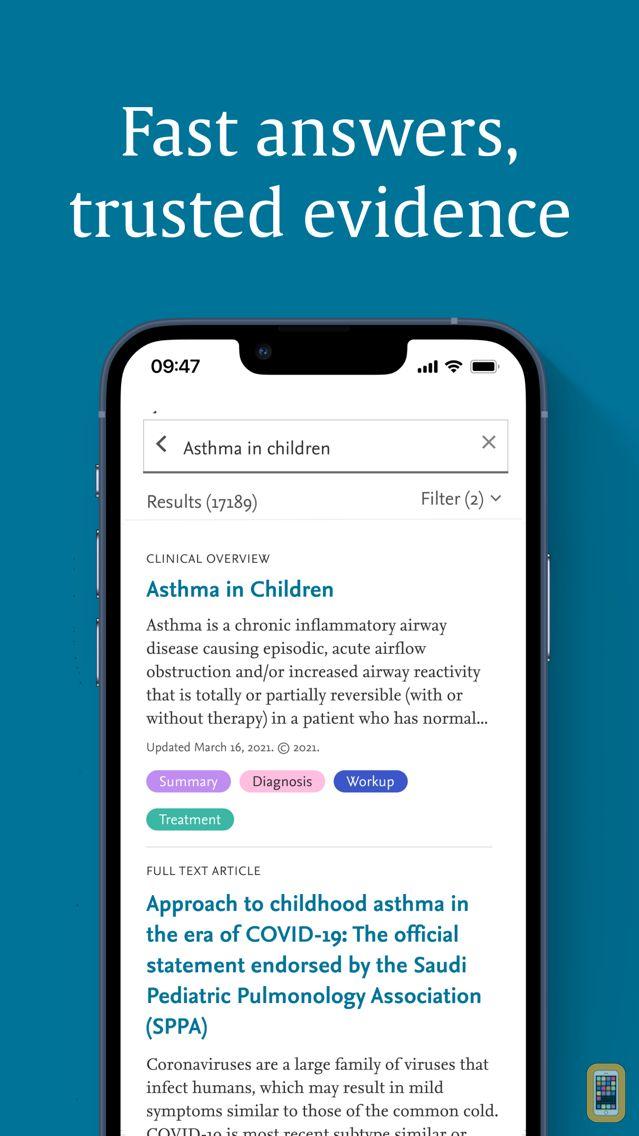 Screenshot - ClinicalKey