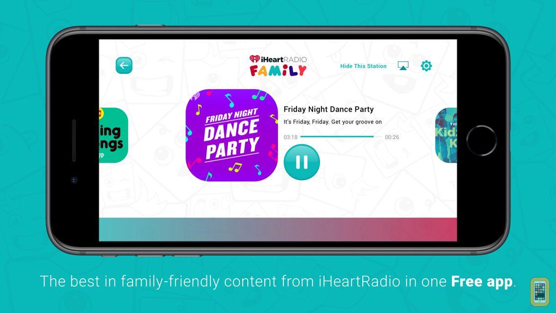 Screenshot - iHeartRadio Family