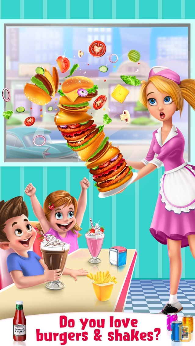 Screenshot - Burgers & Shakes - Fast Food Maker