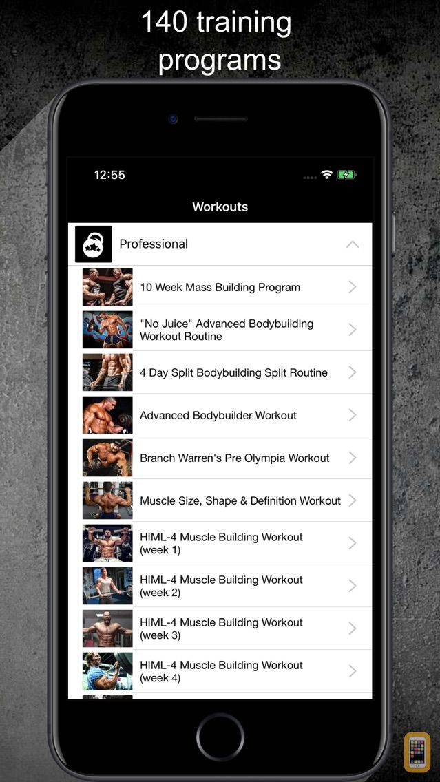 Screenshot - Gym Guide Pro workouts and exercises for fitness