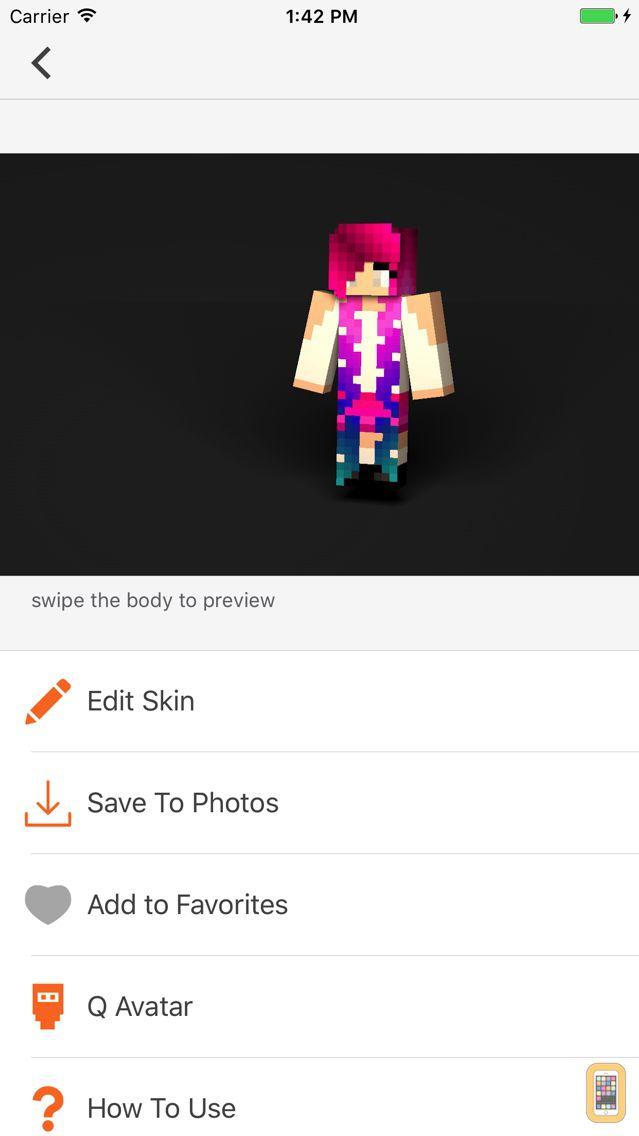 Screenshot - PE Skins - Skins for Minecraft