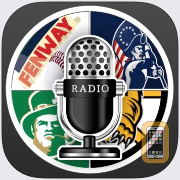 Boston GameDay Radio For Patriots Red Sox Celtics by Thanh Ho (iPhone)