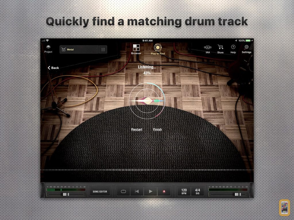 Screenshot - X Drummer: Songwriting Tool