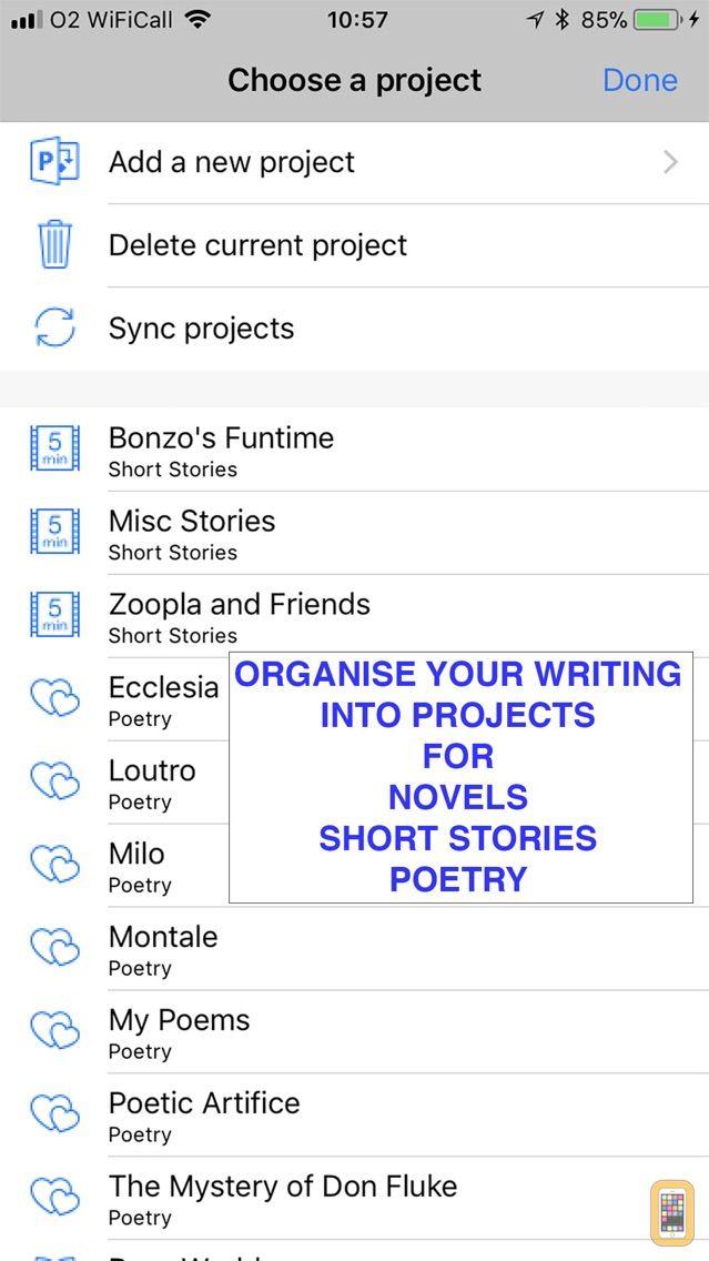 Screenshot - Writing Shed
