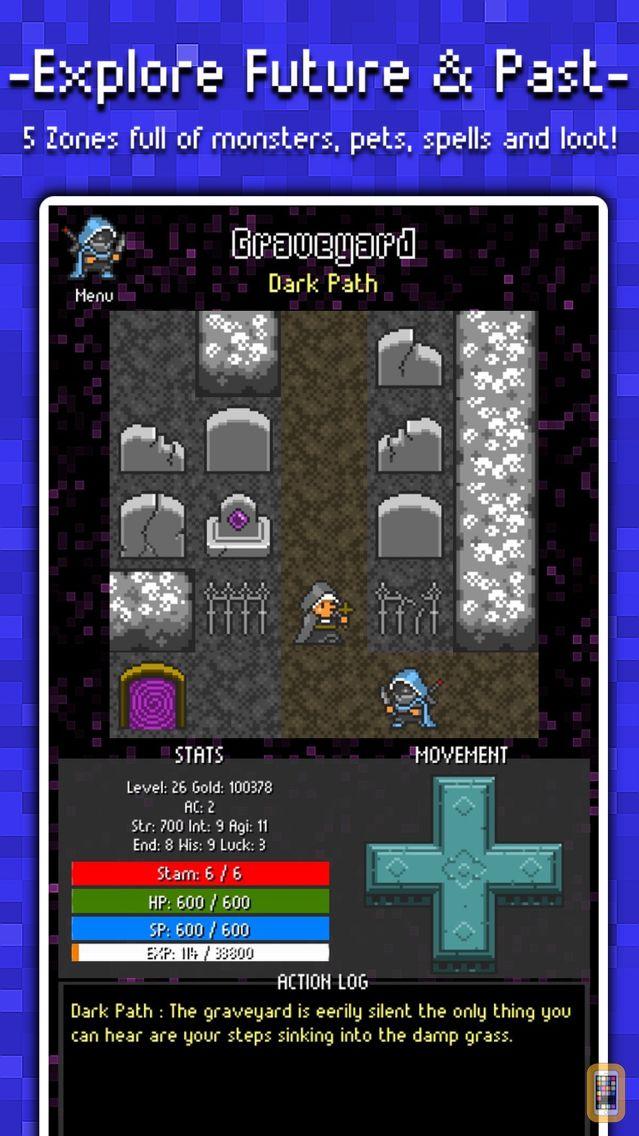 Screenshot - Adventure To Fate : Quest To The Future JRPG