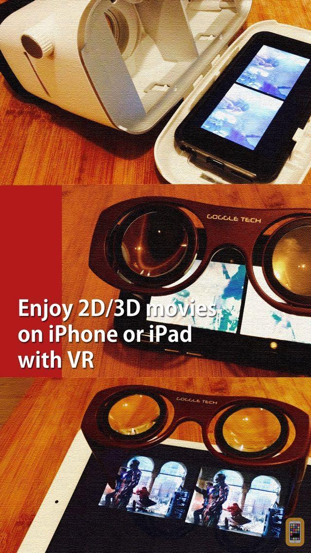 Screenshot - VRPlayer Pro : 2D 3D 360°Video