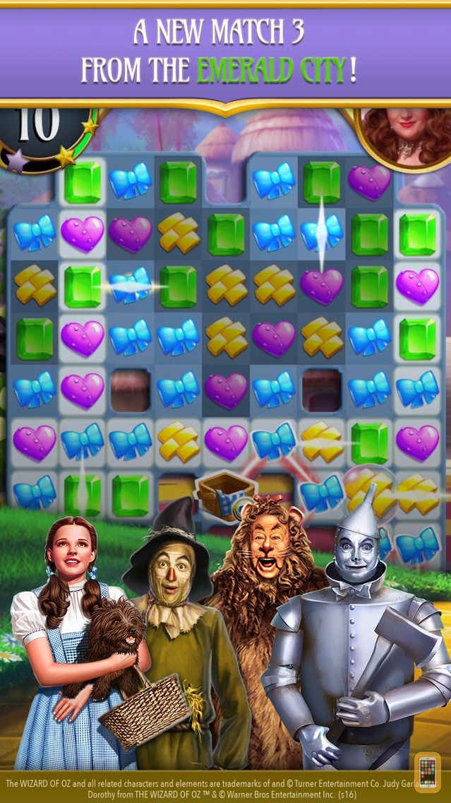 Screenshot - The Wizard of Oz Magic Match 3