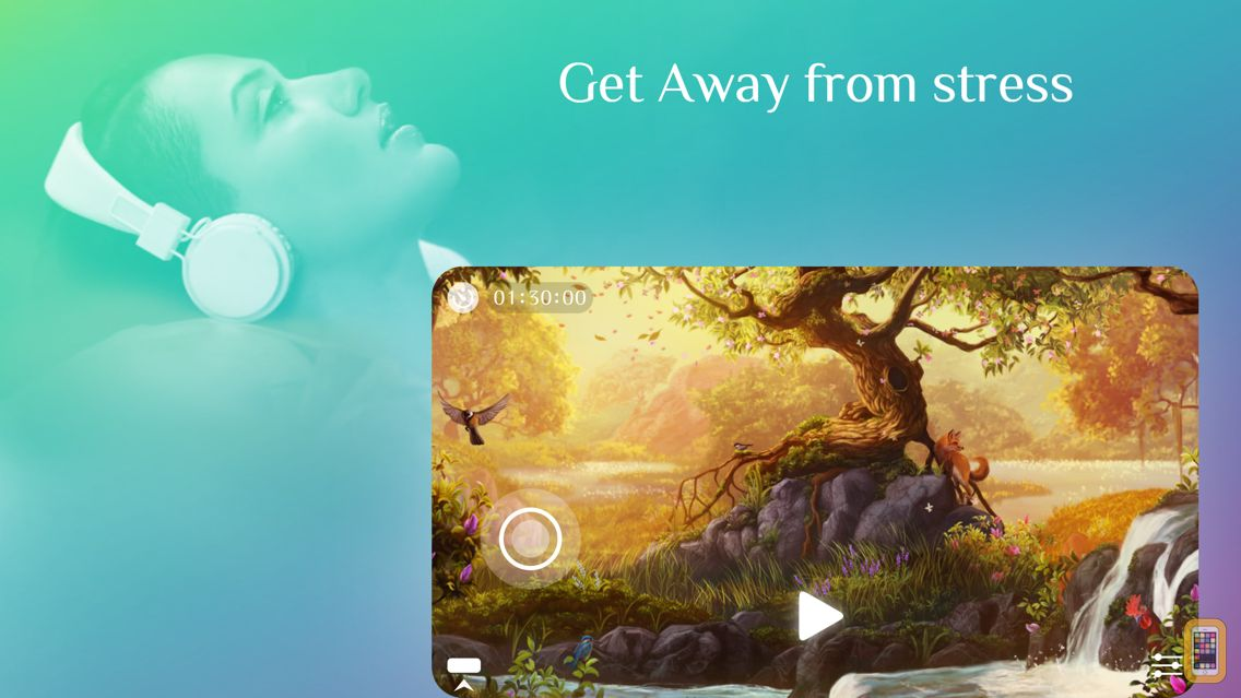 Screenshot - Away ~ Nature Sounds to Sleep