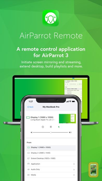 Screenshot - AirParrot Remote