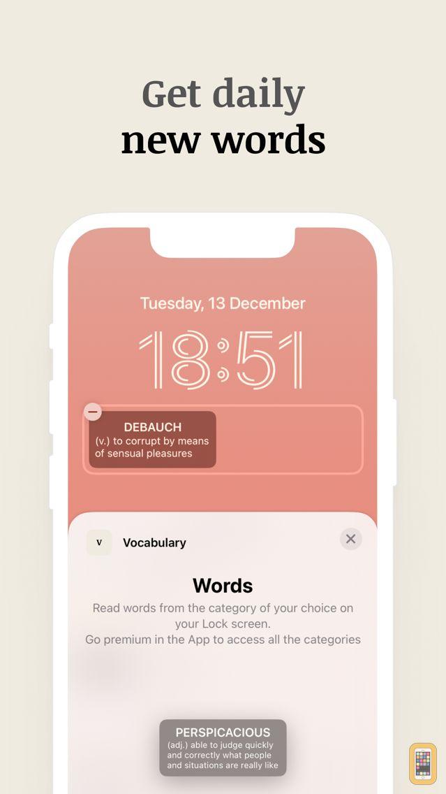Screenshot - Vocabulary - Learn New Words