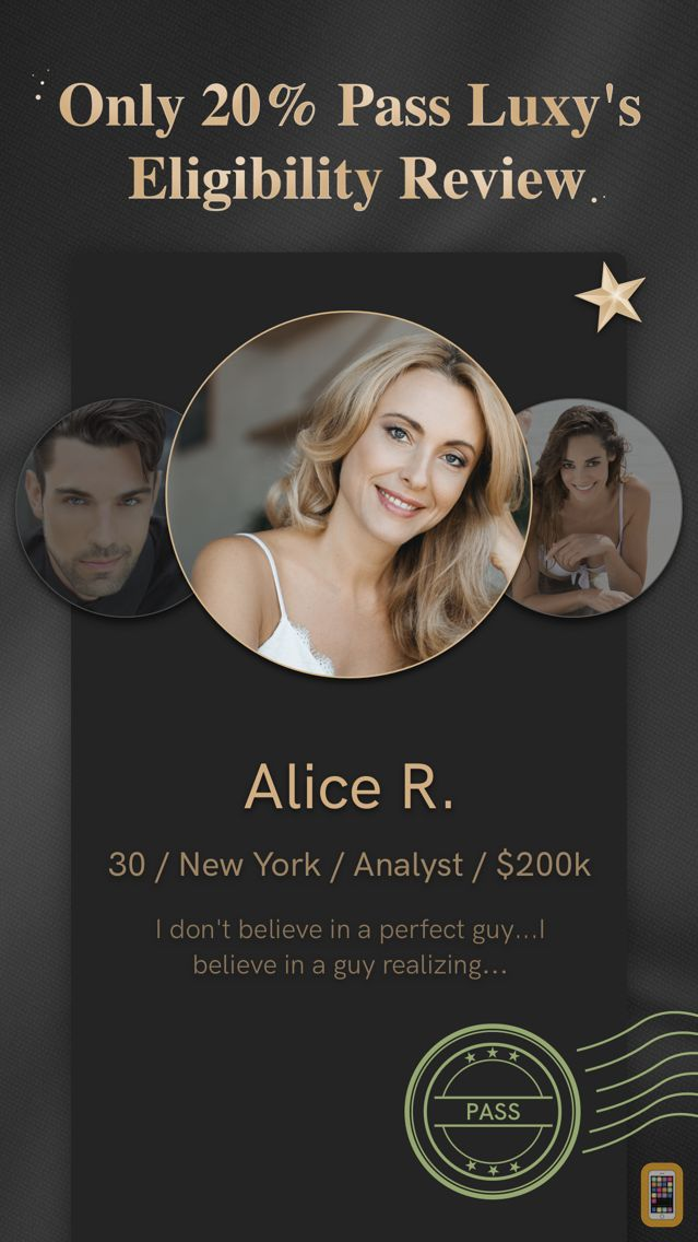 Screenshot - Selective Dating - Luxy Pro