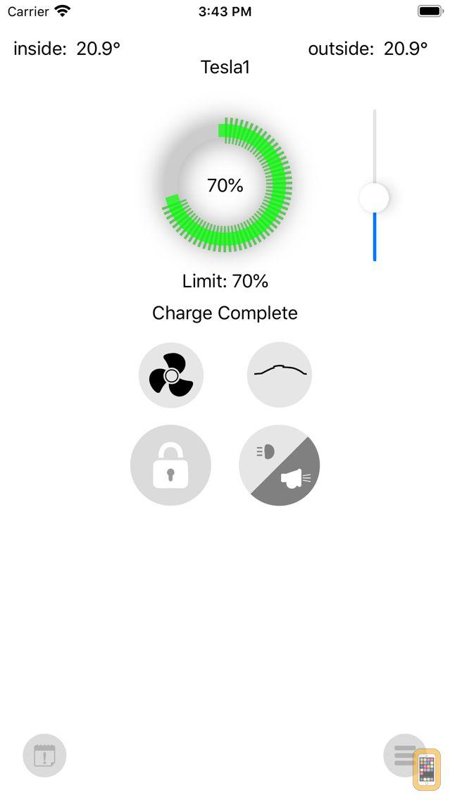 Screenshot - EV Watch for Tesla