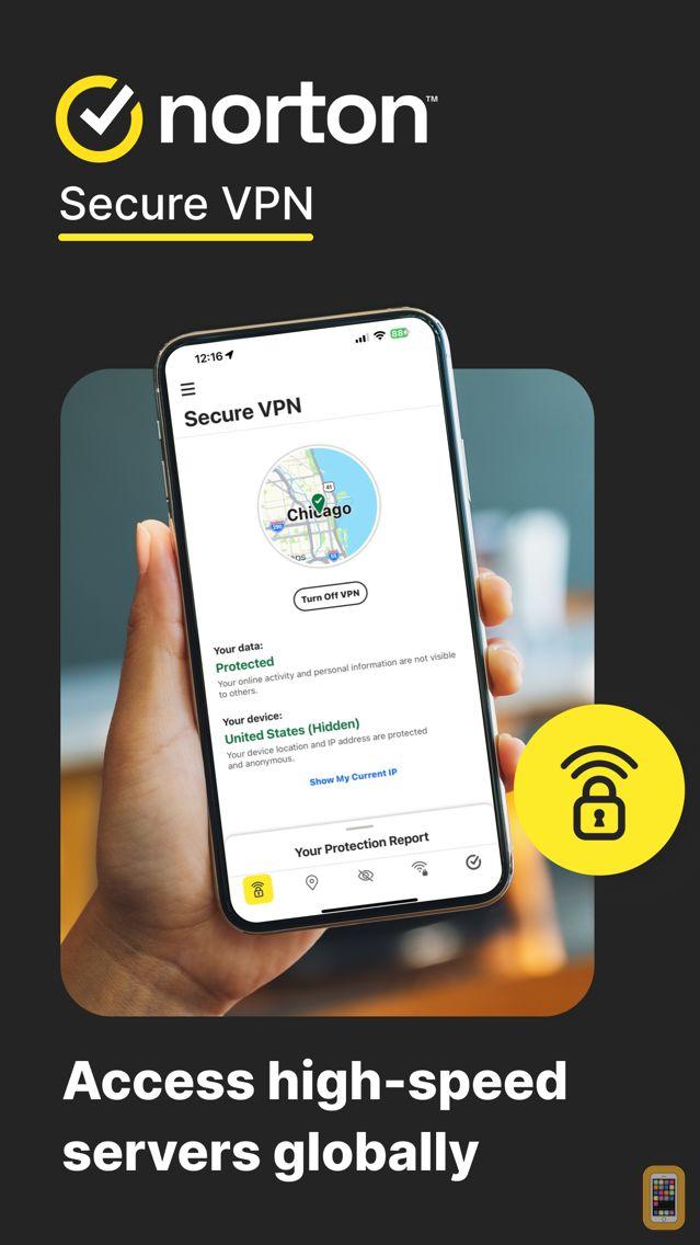 Screenshot - Norton Secure VPN - WiFi Proxy