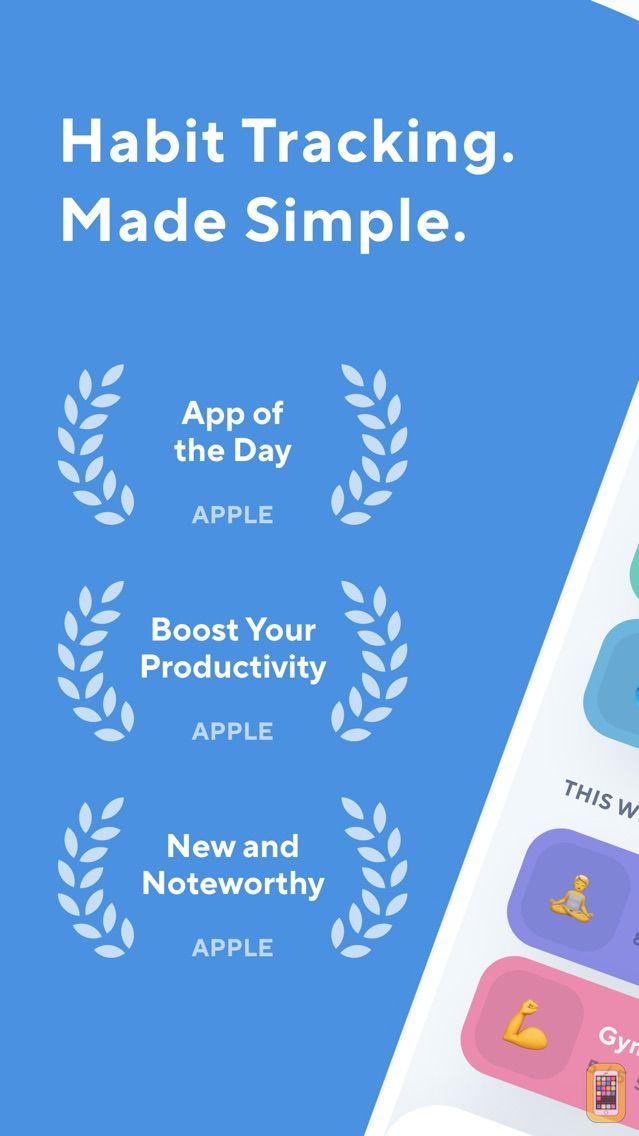 Screenshot - Done: A Simple Habit Tracker