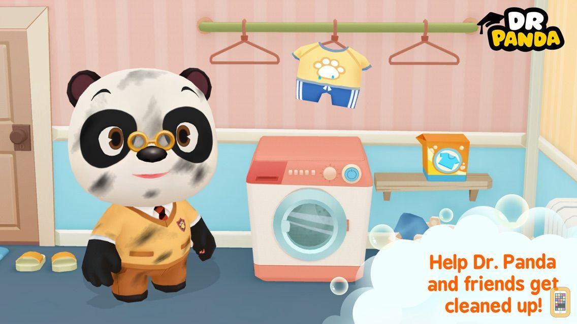 Screenshot - Dr. Panda Bath Time