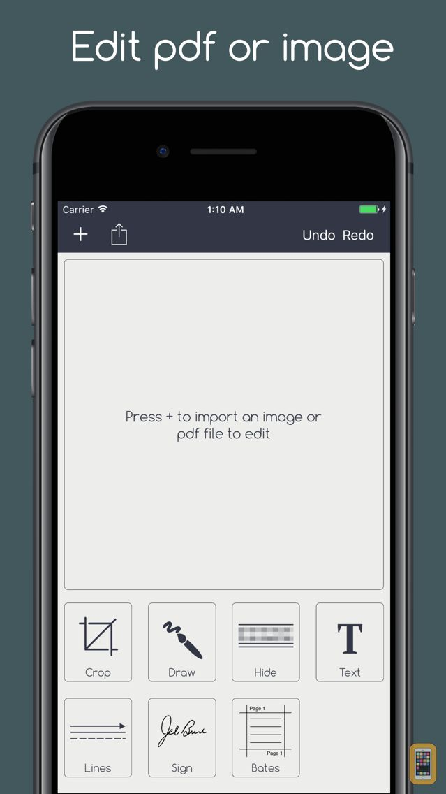 Screenshot - Editable Image Redactor