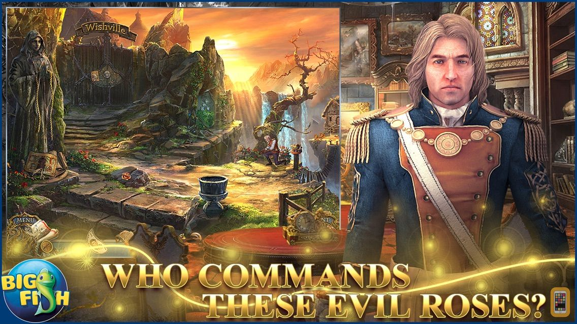 Screenshot - Living Legends: Bound by Wishes - A Hidden Object Mystery (Full)
