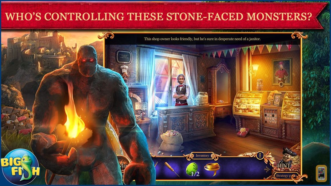Screenshot - Royal Detective: Legend of The Golem - A Hidden Object Adventure (Full)