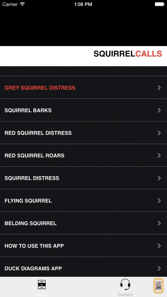 Screenshot - Squirrel Calls-SquirrelPro-Squirrel Hunting Call