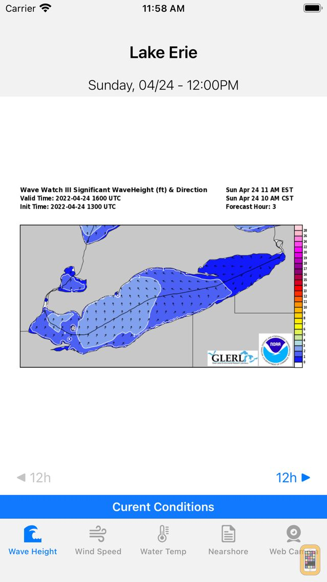 Screenshot - Great Lakes - Forecast