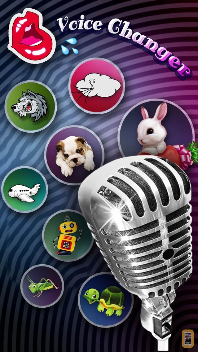 Screenshot - Voice Change.r Effect.s - Funny Sound.Board Modulator, Speaking Record.er & Audio Play.er