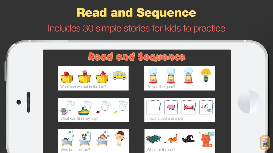 Screenshot - Read and Sequence - Sequencing Stories for Early Readers