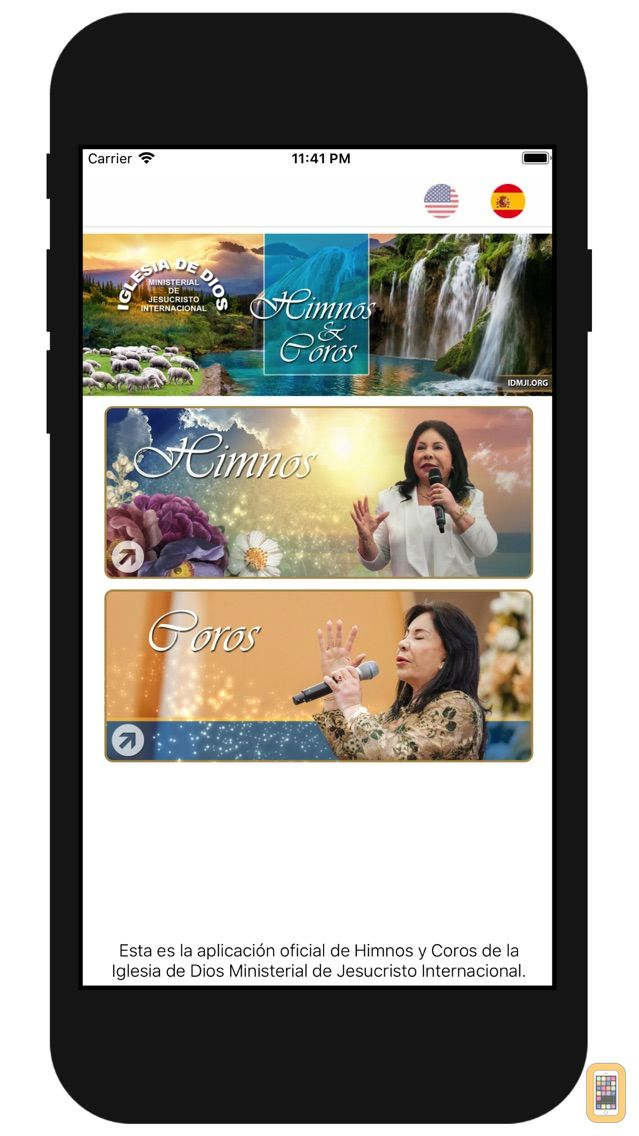Screenshot - Himnos y Coros IDMJI