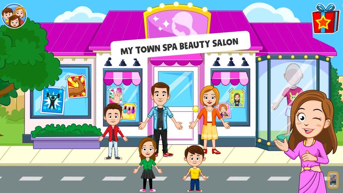 Screenshot - My Town : Beauty Spa Saloon