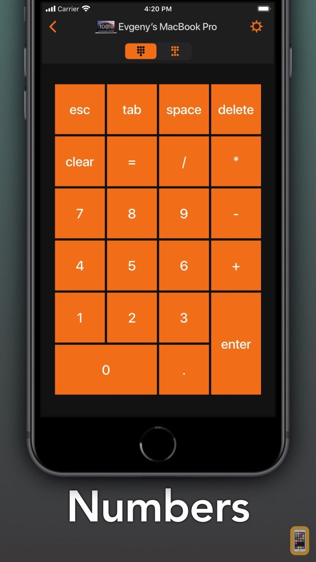 Screenshot - Remote KeyPad NumPad Keyboard