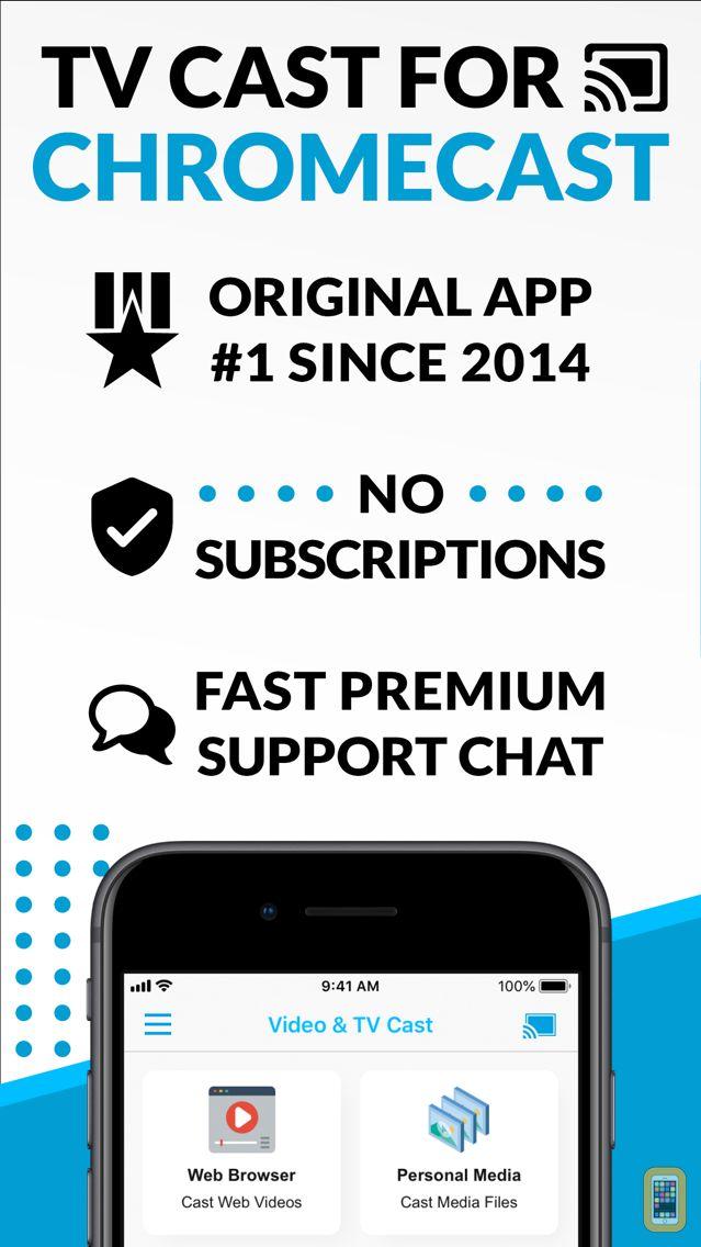Video & TV Cast + Chromecast for iPhone & iPad - App Info