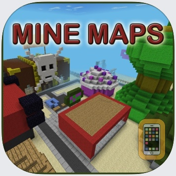 MineMaps for MCPE - Maps for Minecraft PE by Nadeem Mughal (Universal)