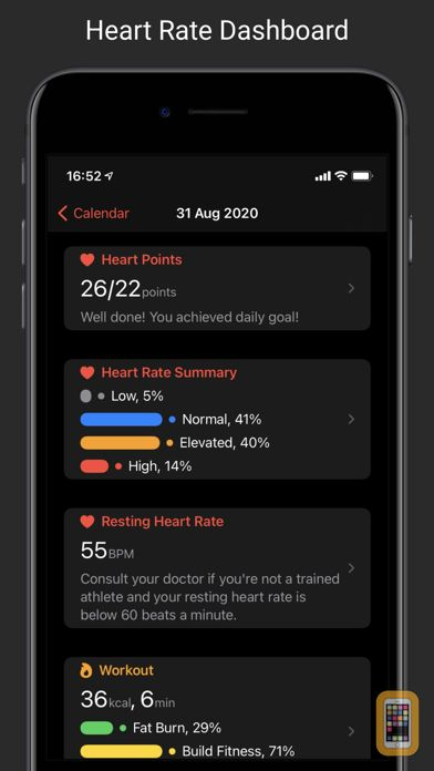 Screenshot - CardioBot - Heart Rate Tracker