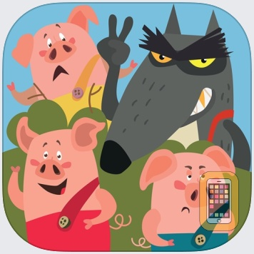 Three Little Pigs vs The Wolf by Irene Deev (Universal)